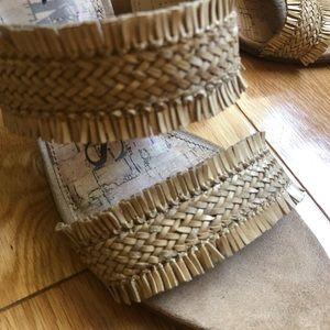 Braided Summer Heeled Sandals
